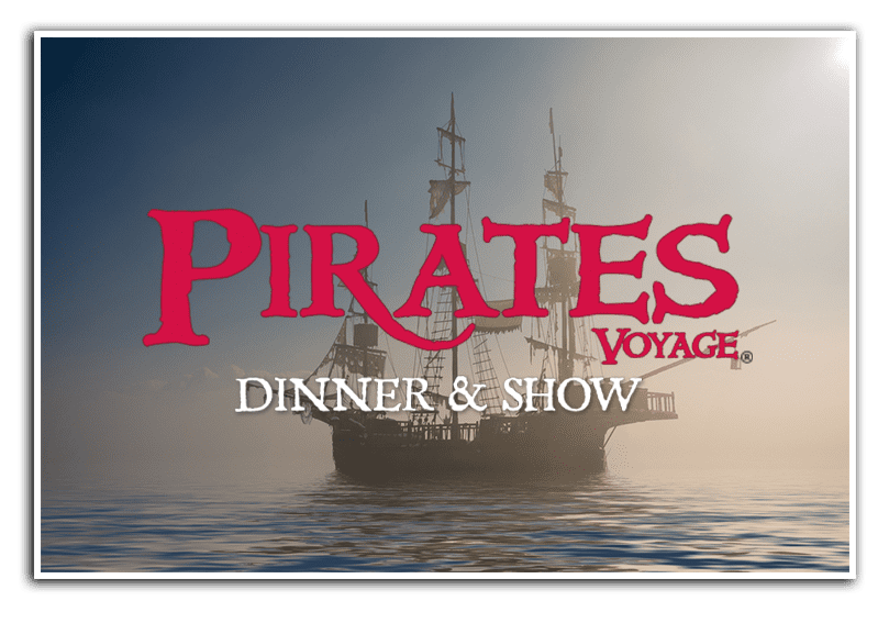 Pirates Voyage Dinner & Show Pirate Ship